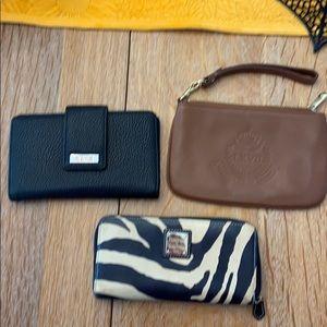 3 wallets